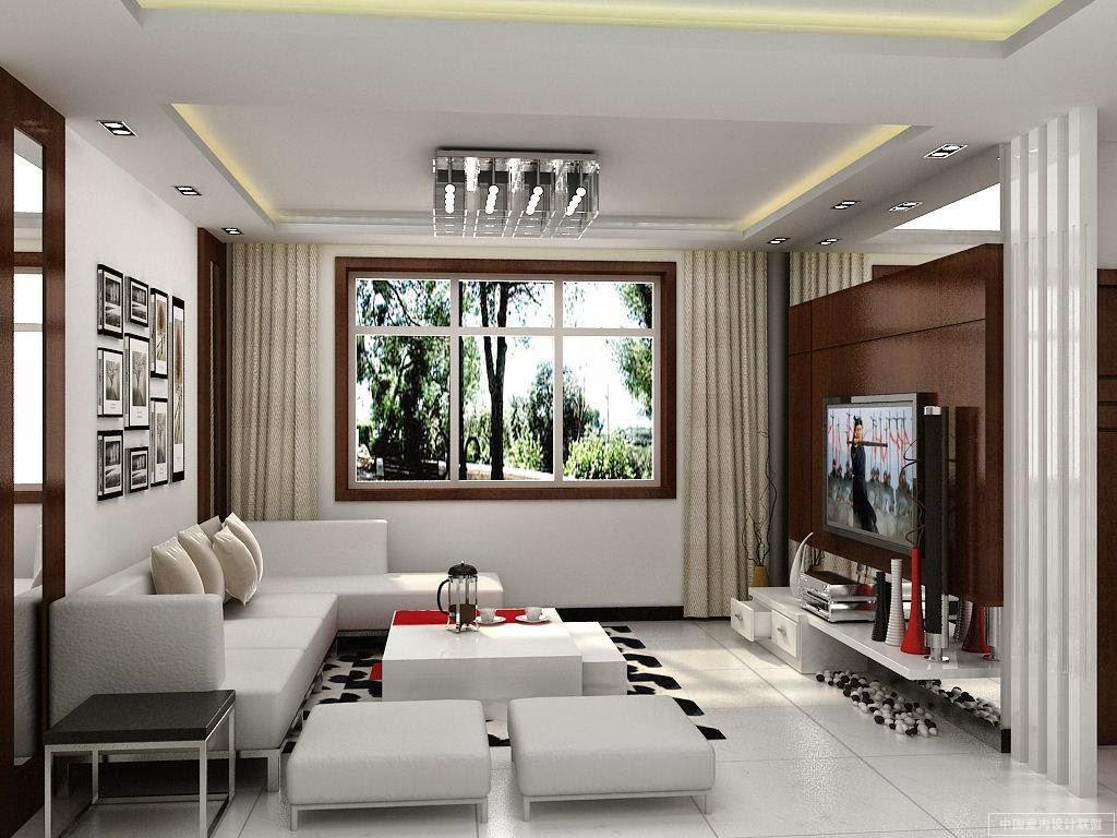 desain ruang keluarga kecil modern