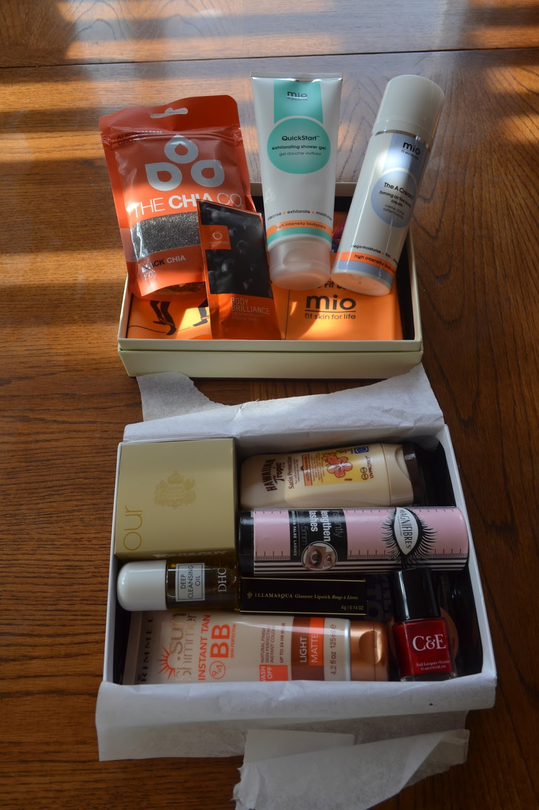 contents you beauty limited edition beauty box and glamour beauty box