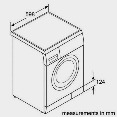 what are the dimensions of a washing machine