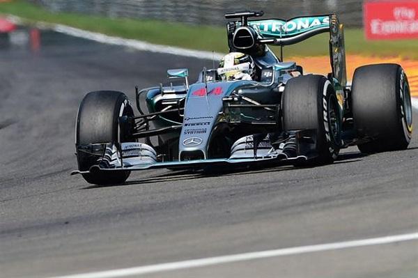 Fórmula 1: Lewis Hamilton gano en el mítico circuito de Spa-Francorchamps
