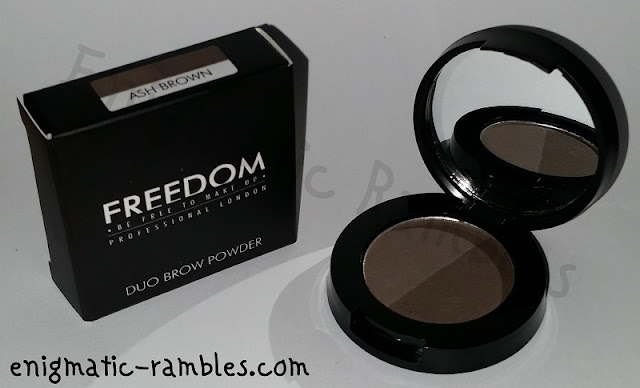Review-Swatch-Freedom-Makeup-Duo-Brow-Powder-Ash-Brown