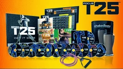 Beachbody T25, www.HealthyFitFocused.com