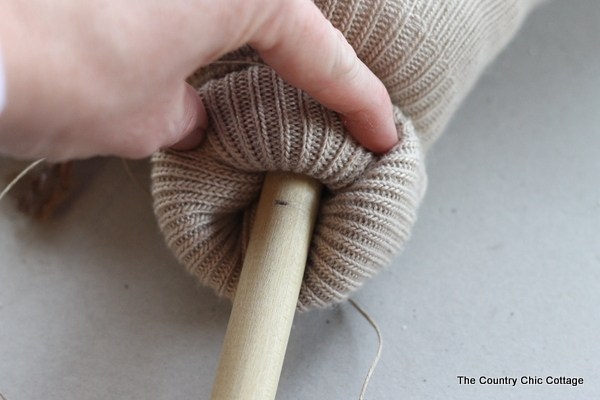 DIY Sock Stick Horses Tutorial from The Country Chic Cottage @countrychiccott