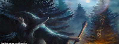 Couverture facebook Gandalf