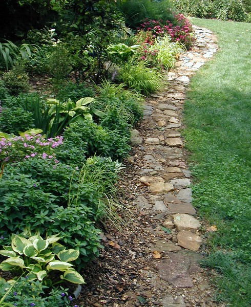Edge Garden Landscape Rocks : Laurrie s garden diary design ideas