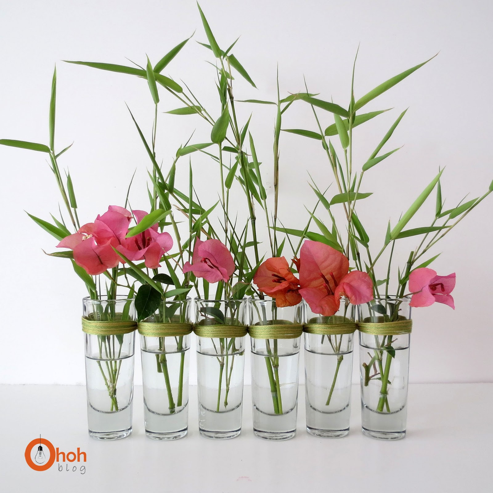 Diy vase ohoh blog Diy home decor flower vase