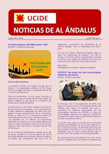 Noticias de Al Ándalus de septiembre 2018