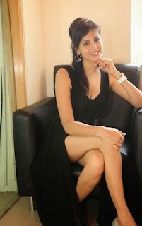 Actress Supriya Sailaja Latest  Pictures in Black Dress at BIG FM  0045.jpg