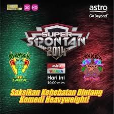 Keputusan Super Spontan 2014 Final