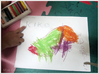 He made an art and traced his nickname