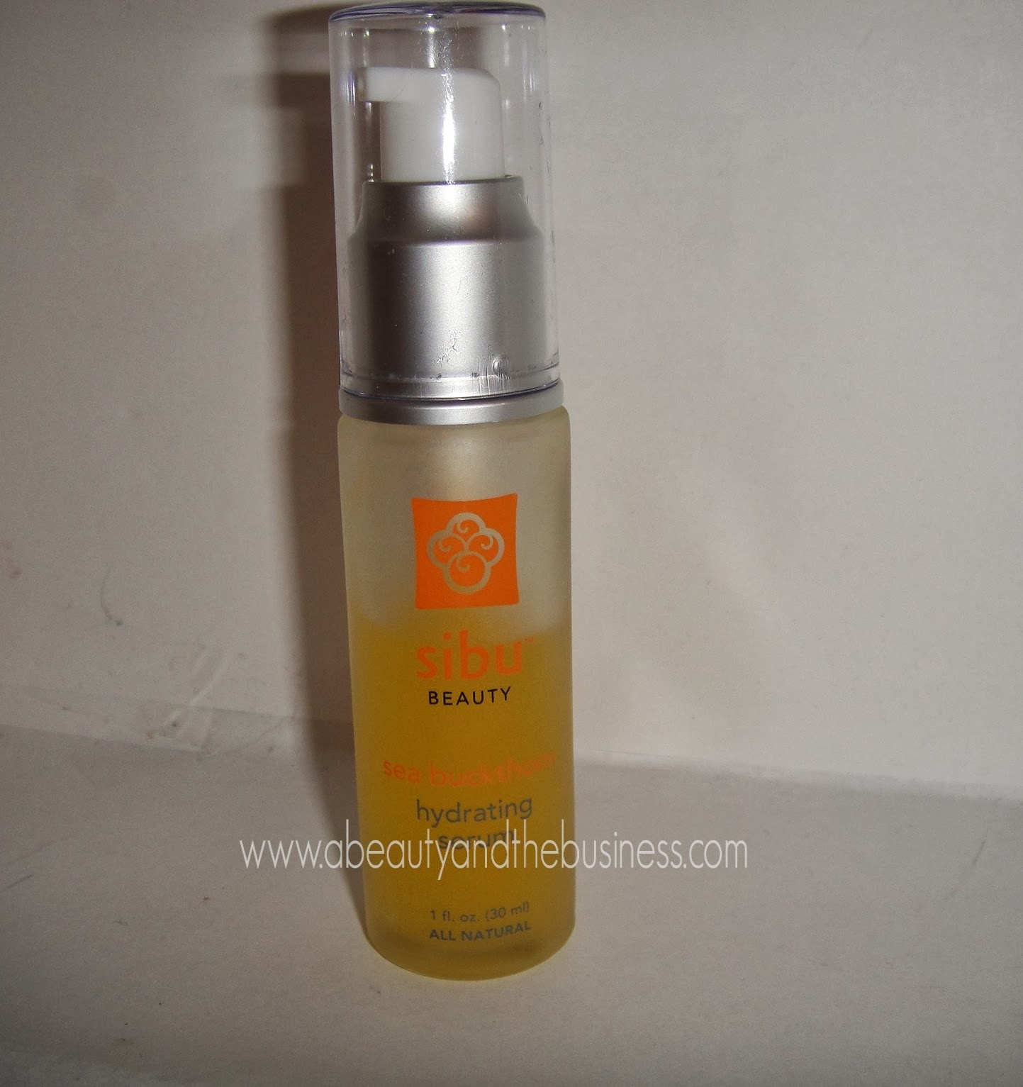 sibu, sibu beauty, SEA BUCKTHORN HYDRATING SERUM, SEA BUCKTHORN HYDRATING SERUM review, SEA BUCKTHORN HYDRATING SERUM sample, serum review, sibu serum review,