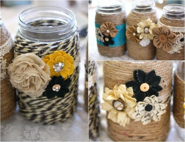 40 Cute Repurpose Mason Jar Crafts Ideas Best DIY Tips On Extraordinary Tip Jar Decorating Ideas