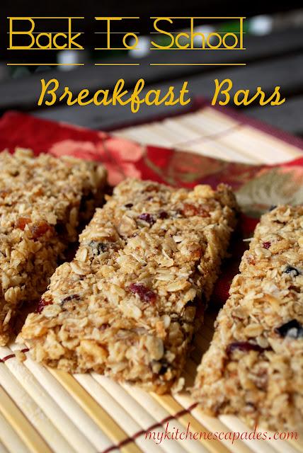 Back to School Breakfast Bars