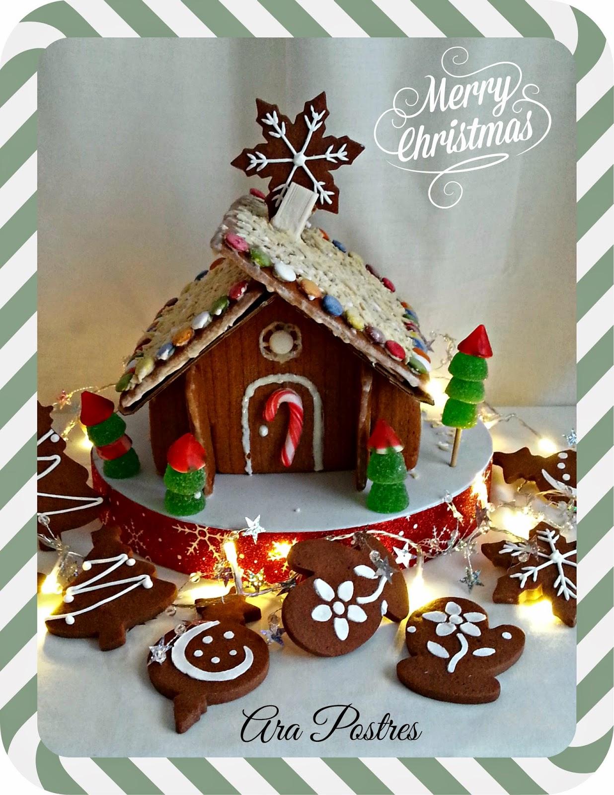 Ara postres galetes paisatge nadalenc for Casa de navidad cocina con sara