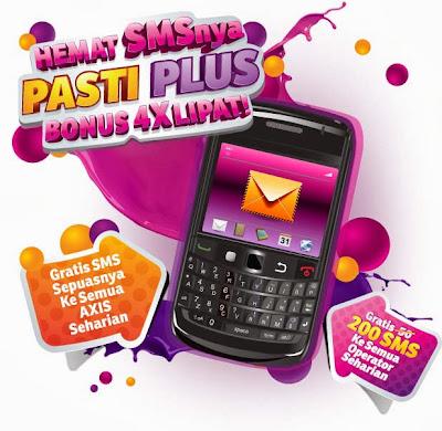 Gratis Nelpon dan SMS Seharian AXIS Jawa