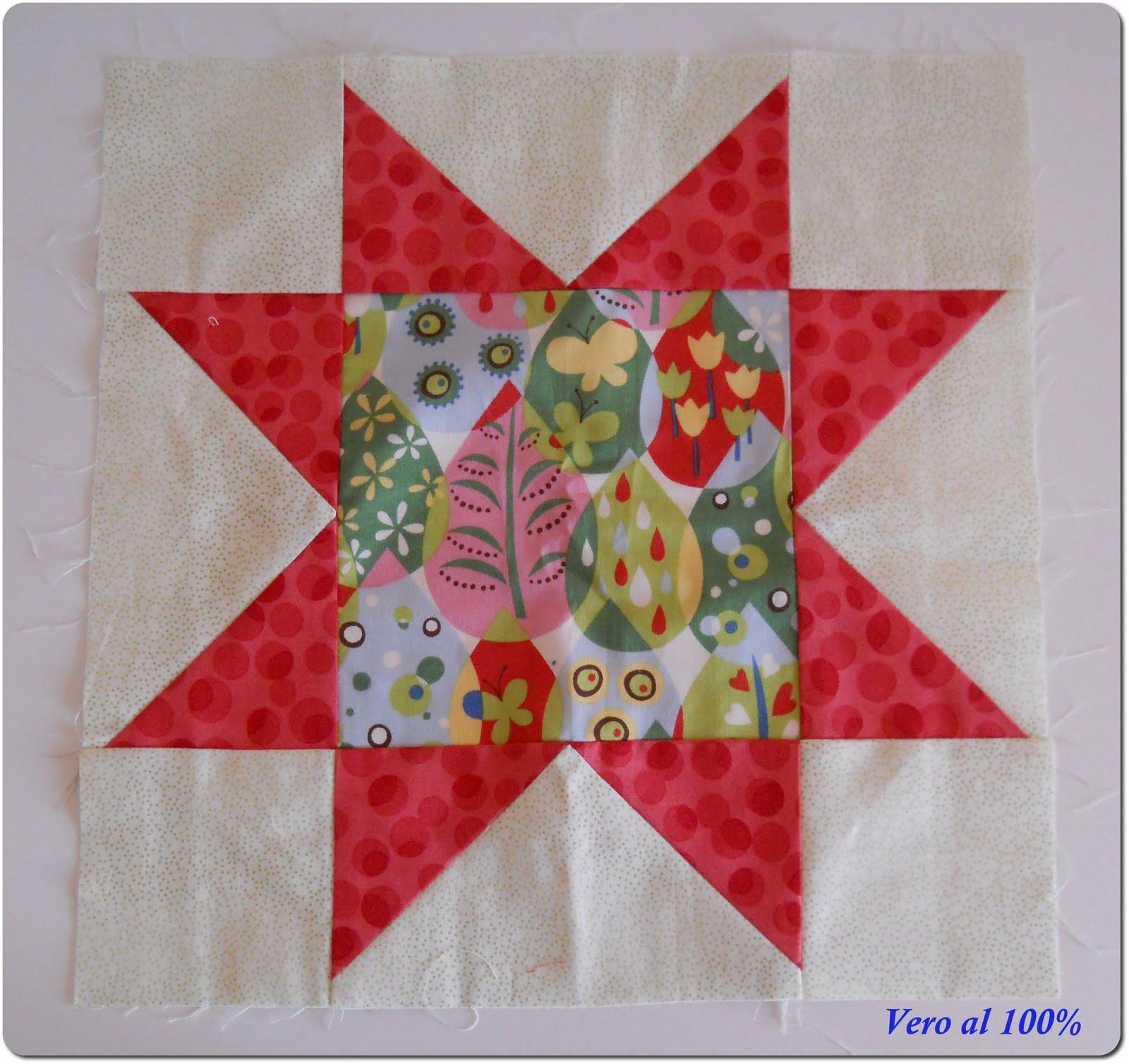 Vero al 100 corso di patchwork 1 livello nuove piastrelle for Piastrelle patchwork