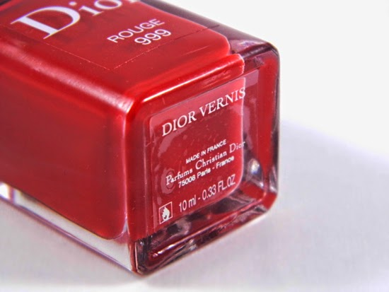 Dior Vernis Nail Lacquer - 999 Rouge-