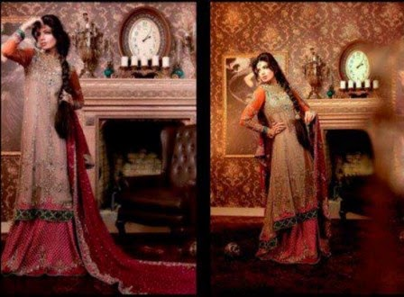 latest bridal dresses pakistani wedding