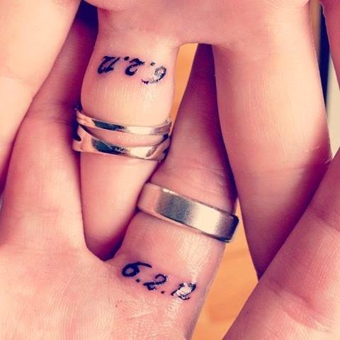 The Tattoo World Finger Tattoos