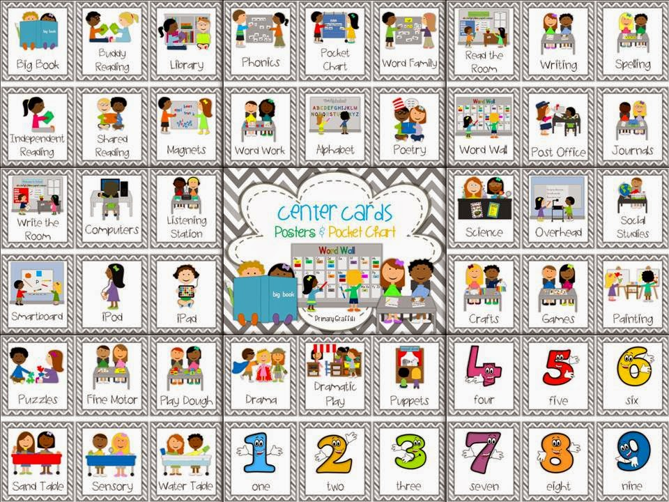 http://www.teacherspayteachers.com/Product/Center-Rotation-Cards-and-Posters-807603