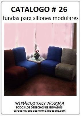 Manualidades gratis catalogo 26 funda para sillones - Sillones y punto ...