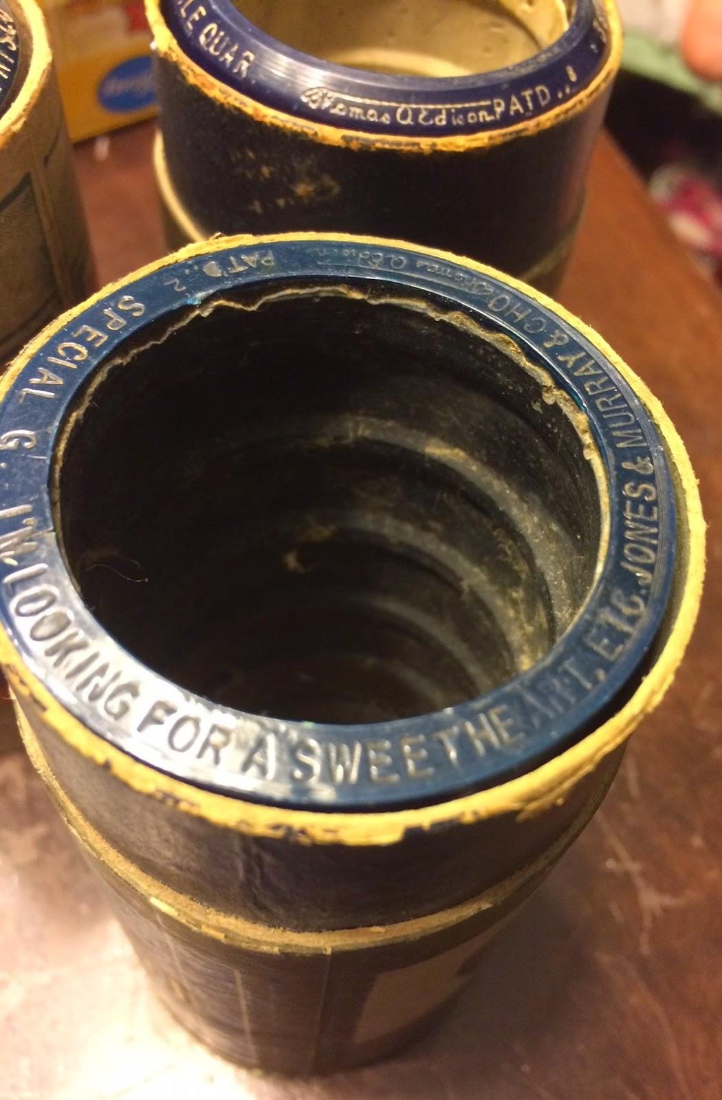 Maritime Vinyl Edison Blue Amberol Records Cylinders