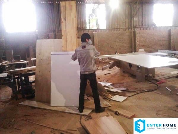 Xưởng sản xuất đồ gỗ nội thất enterhome ảnh 15