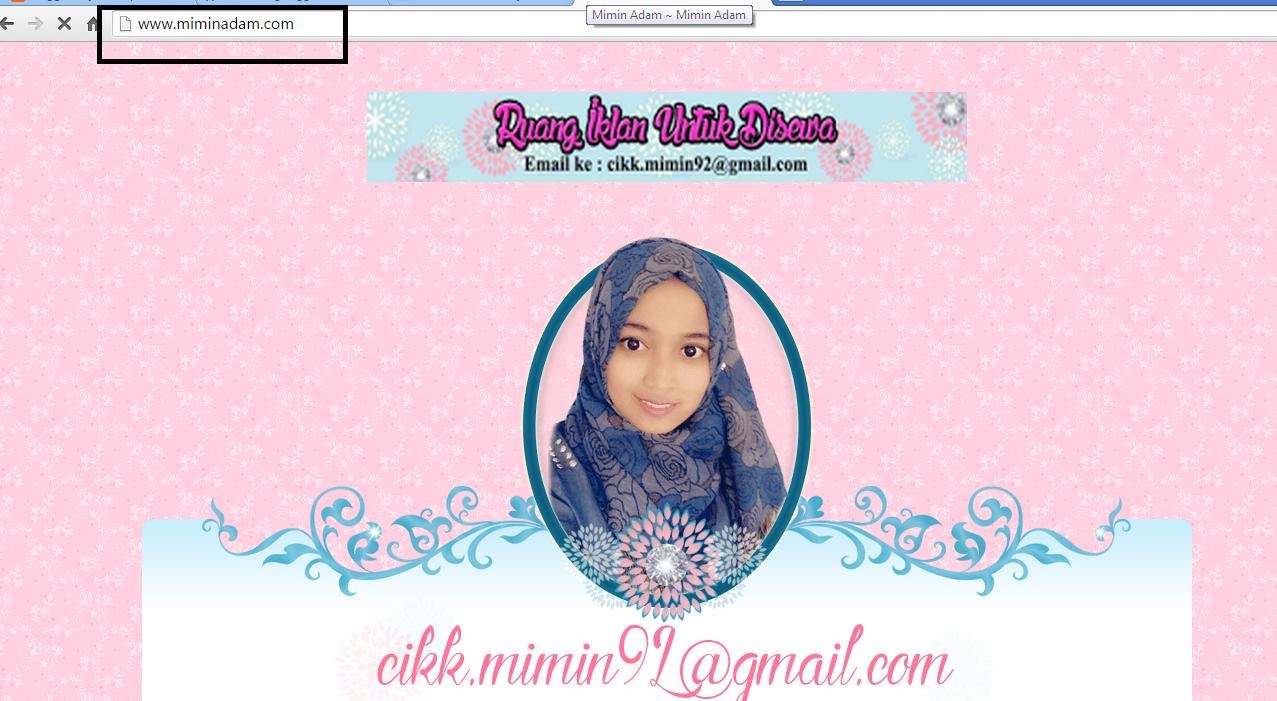 berjaya bantu blogger miminadam beli domain