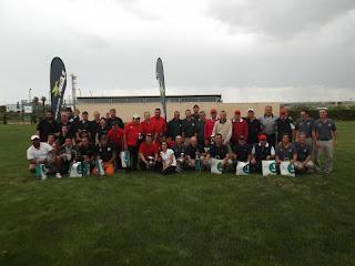 Participantes VIII Interclubs Agepp 2012 en Pitch & Putt Ampolla