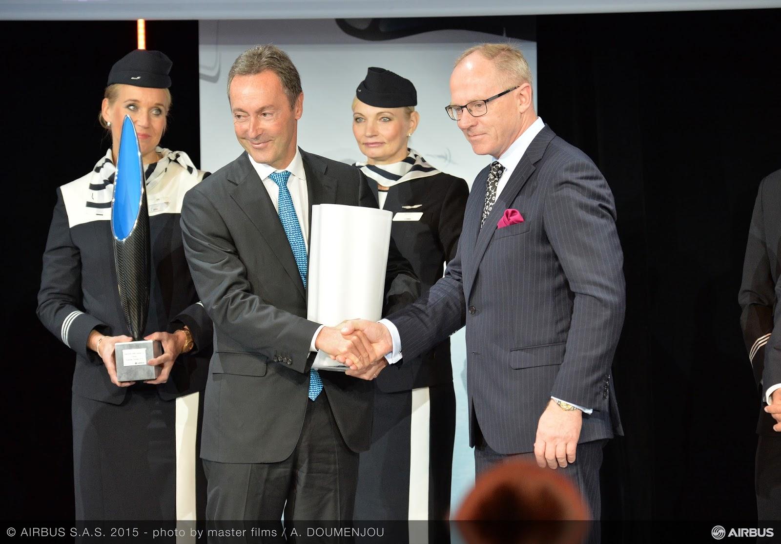 Finnair recebe o A350 XWB | Veja as imagens