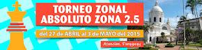 Paraguay: Torneo Zonal Absoluto Zona 2.5 (Dar clic a la imagen)