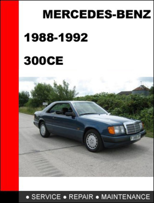 Car july 2011 for 1988 mercedes benz 300ce