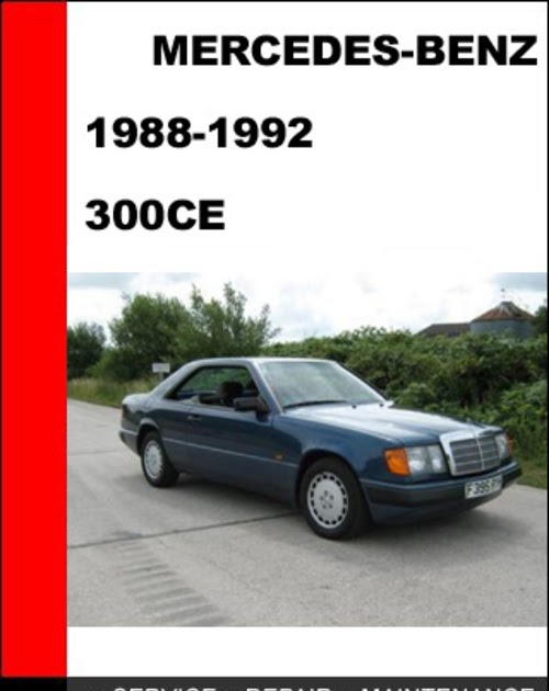 1988 mercedes benz 300ce 124 chassis connecting for Mercedes benz diagnostic codes