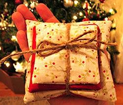 Artesanato - enfeites para o pinheiro de Natal