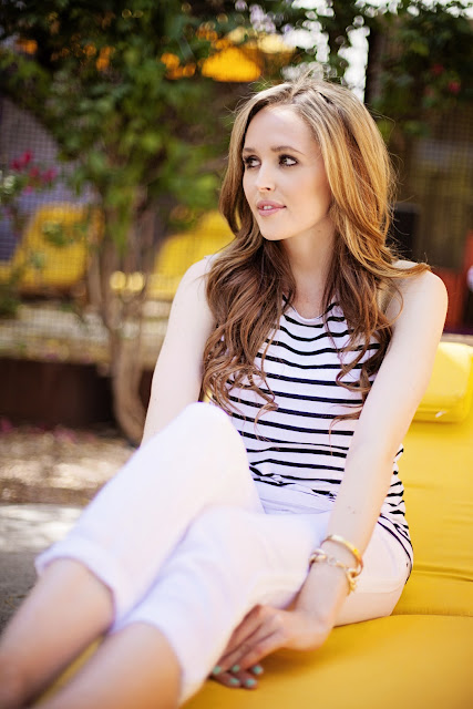 Personal Style Blogger-Golden Divine Blog- Michael Stars-Blogger Feature-Striped Top