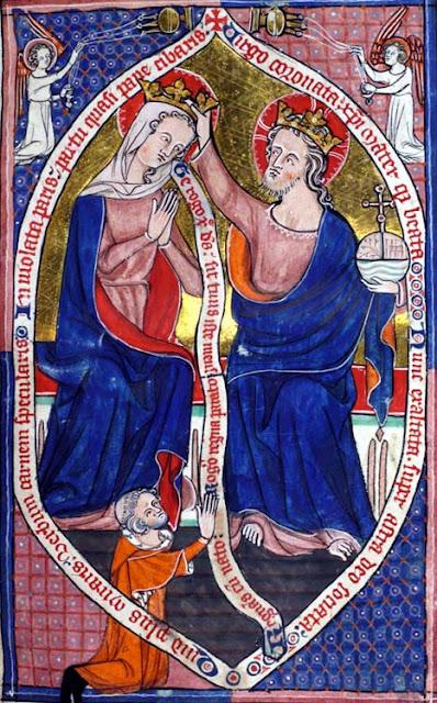 Dziewica Maryja, płaszcz, koronacja, Jezus, Matka, znaczenie, symbol