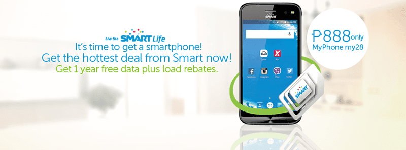 Smart MyPhone My28 888 deal