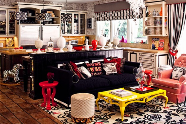 Celebrity Home Photographs by Douglas Friedman: Christina Aguilera Home 3