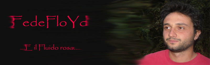 FedeFloYd... E il Fluido rosa