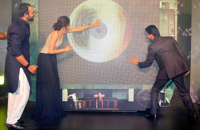 Rohit Shetty, Deepika Padukone and  Shah Rukh Khan