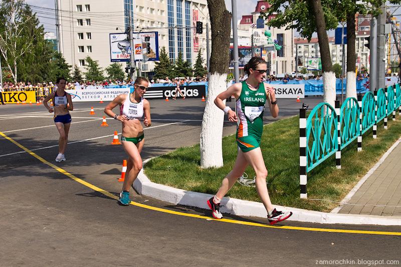 Женщины 20 км Кубок Мира по Спортивной ходьбе Саранск 2012 | Women's 20 km IAAF World Race Walking Cup Saransk 2012