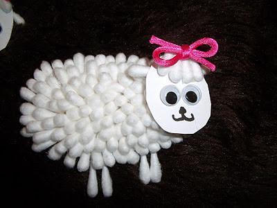 Ovejas esponjosas