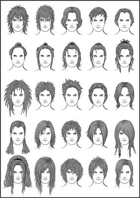 Drawing Men's Hairstyles