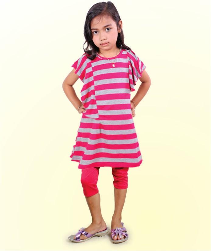 Dress Anak Kaos