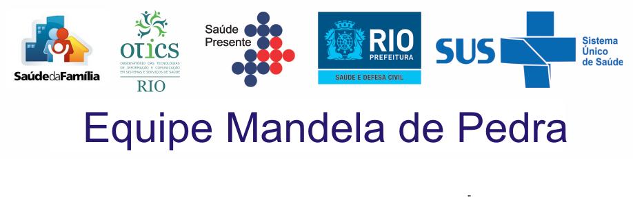 ♥ EQUIPE MANDELA DE PEDRA ♥