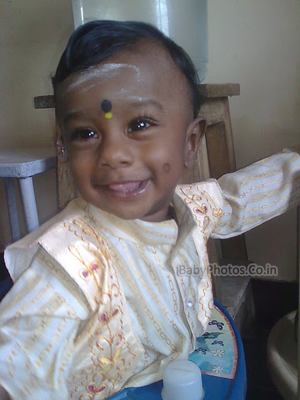 Cute Indian Baby Pictures 004