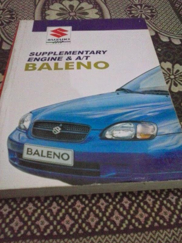Supplementary Service Manual Engine  U0026 At Baleno 1 5 Rp  1