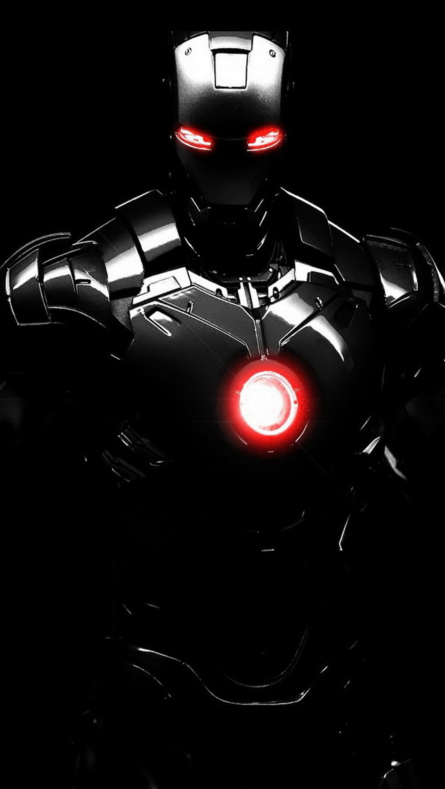 Iron Man iPhone 5 Wallpaper HD
