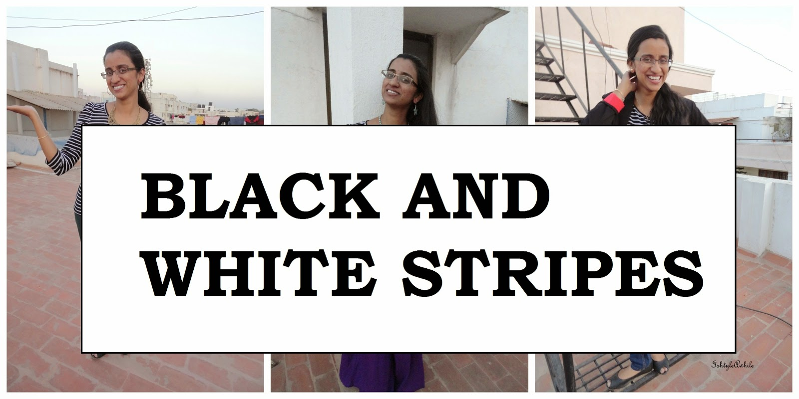 AVATAR #5: Black and white stripes tee shirt - Styling with Pants edition image