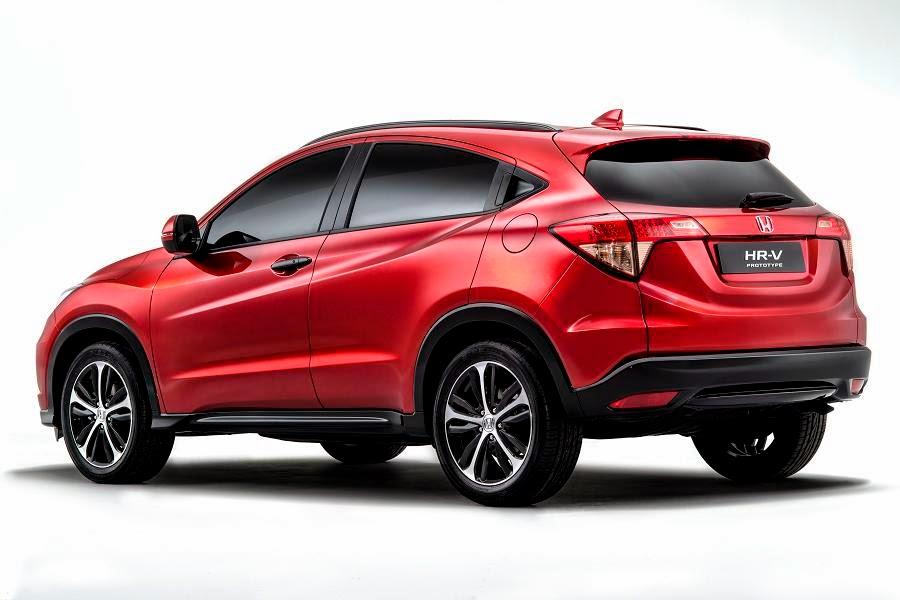 Honda HR-V Prototype (2015) Rear Side